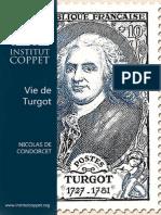 Vie de Monsieur Turgot Nicolas de Condorcet