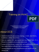HVAC Training  @ DCS, Hyderabad