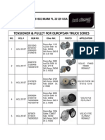 Hcl-tensor and Pulley European Trucks Series