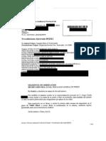 Resolucion AP sobre la ampliacion de la fienza de Escrito Ampliacion de Fianza de HCC Europe solicitado por el GIC