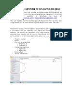 Práctica de Gestión de Ms Outlook 2010