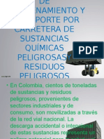 Almacenamiento y Transporte de Residuos Peligrosos