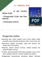 Pertemuan 2 Proses Sulfur