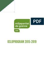 MDG Osloprogram 2015-2019