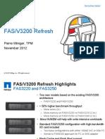 FAS3200 E-Series Update