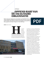 Kloppend hart van de facilitaire organisatie. FACTO Magazine 2015 edition 3
