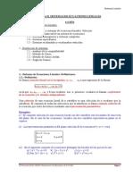 Tema 3.- Sistemas de Ecuaciones Lineales