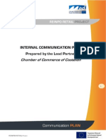 Communication Plan & Capitalization REINPO RETAIL