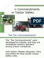 10 Comm Tractor Safety