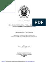 Anestesi Spinal Pd Hemodinamik SC