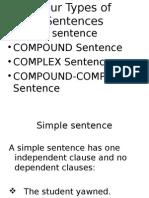 6 Types of Sentence