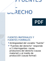 Las Fuentes Del Derecho u3