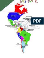 Americas Mapas