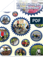 2010 Michigan Ride Calendar