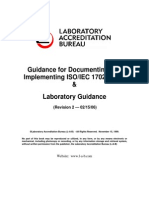 Guidance Documentation Implemetation 17025 2005
