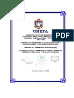 Manual Del Trabajo de Investigacion