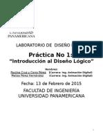Práctica 1 - Introducción Al Diseño Lógico