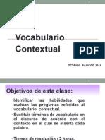 Vocabulario Octavo