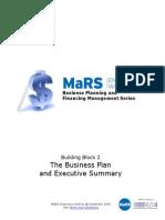 The Business Plan Executive Summary WorkbookGuide