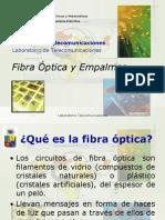 Fibra Optica y Empalmes