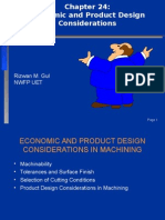 Chapter 24-Economic and Product Design Considerations