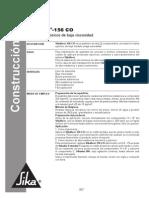 Ficha Sikafloor 156 CO