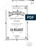 Sonatine Quatuor, Op.10 Millault
