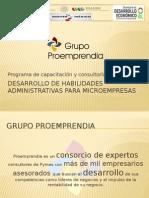 Presentacion. Curso Administración 2015