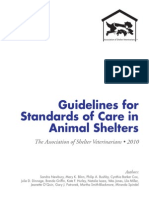 Shelter Standards Oct2011 Wforward