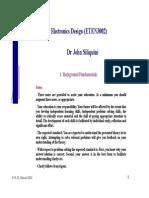 ETEN3002 Electronics 1 Background(1)