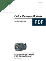 FCB-EX980 Series Technical Manual