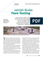 CEP_Industrial Scale Flare Testing