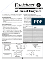 Biofact sheets on Enzymes