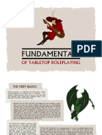 Fundamentals of Tabletop Roleplaying
