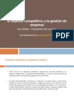 El deporte competitivo y la gestión de empresa