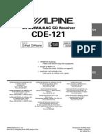 Alpine Cde121 Use