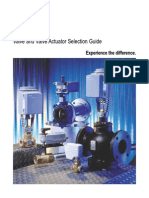 Siemens Control Valve Actuator A Guide for Selection