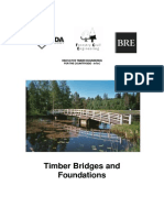 Timber Bridges & Foundations Forestry Commission