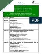Seminário Saúde 2015-10-03