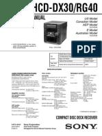 HDC-DX30