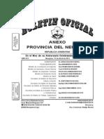 Disp.112/2011 Secretaría de Ambiente y Desarrollo Sostenible de Neuquen