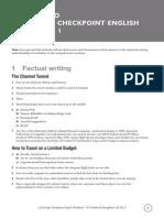 English Workbook 1 Answers