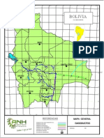 Mapa de Gasoductos