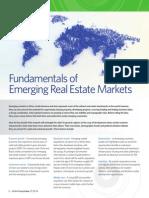 Fundamentals of Emerging Real Estate Markets