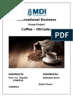 IB Project Coffee