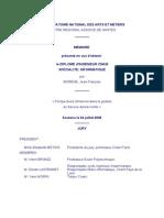« Perspectives d'Internet Dans La Gestion Du Service Après-Vente »
