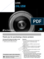 Canon 17-40mm 4.0 EF Lens