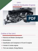 Unit-I Introduction to I.C. Engines...