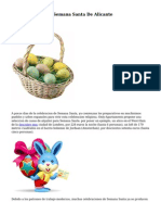 Web Oficial De La Semana Santa De Alicante