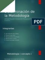 Determinación de La Metodología